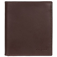 Pure Luxuries London - Brown 'Taranto' Italian-inspired fine leather RFID wallet