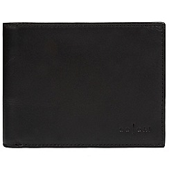 Pure Luxuries London - Black 'Monza' Italian-inspired fine leather RFID wallet