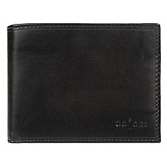 Pure Luxuries London - Black 'Palermo' Italian-inspired fine leather RFID wallet
