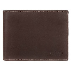 Pure Luxuries London - Brown 'Palermo' Italian-inspired fine leather RFID wallet