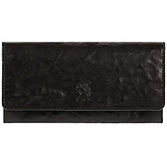 Conkca London - Black 'Rhona' cowhide RFID purse
