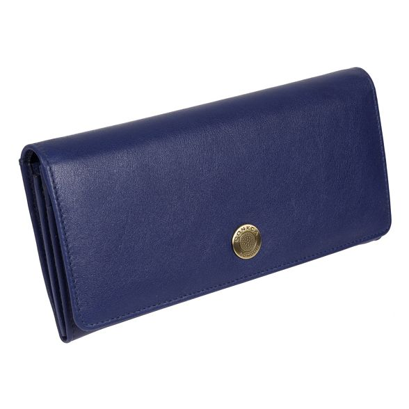 card 'Fey' Blue Conkca leather RFID handcrafted 16 purse London 74nnWqY