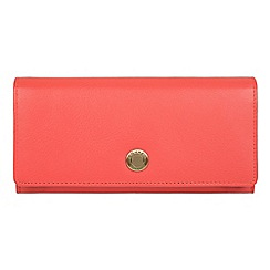 Conkca London - Ginger 'Fey' handcrafted leather 16-card RFID purse