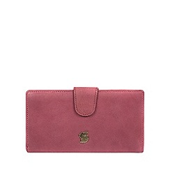 Conkca London - Orchid 'Nisha' handcrafted leather purse