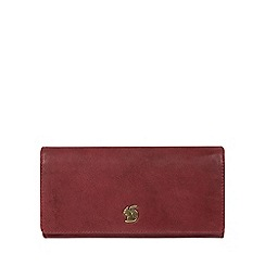 Conkca London - Chilli pepper 'Bloom' handcrafted leather purse