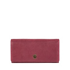 Conkca London - Orchid 'Bloom' handcrafted leather purse