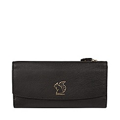 Conkca London - Black  Ollie  leather tri-fold purse b330cd7a9d5a