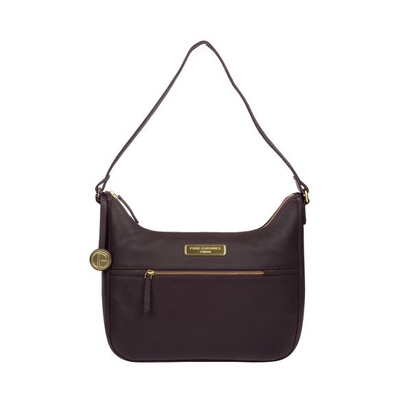 Luxuries Ryde' leather Pure bag London Plum hobo TE1wAAWqdZ