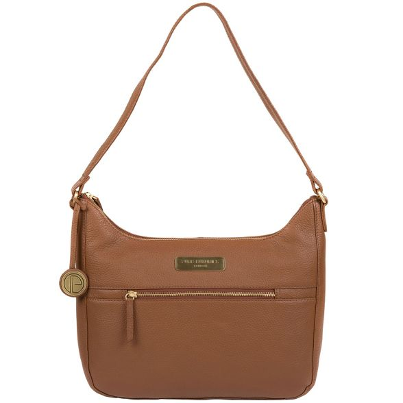 Luxuries leather Tan 'Ryde' London bag hobo Pure UwqHSZnzzP