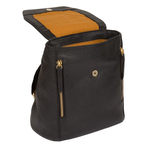 leather 'Barnard' London backpack handcrafted Black Pure Luxuries q4vAwXnnT