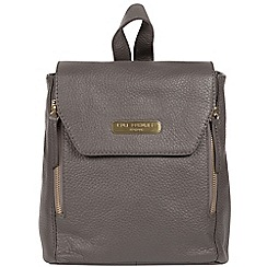 Pure Luxuries London Grey Barnard Handcrafted Leather Backpack