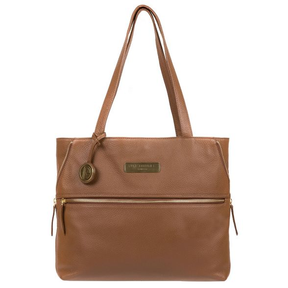 Luxuries 'Skipton' Tan Pure shoulder London bag leather ATpd1qnW