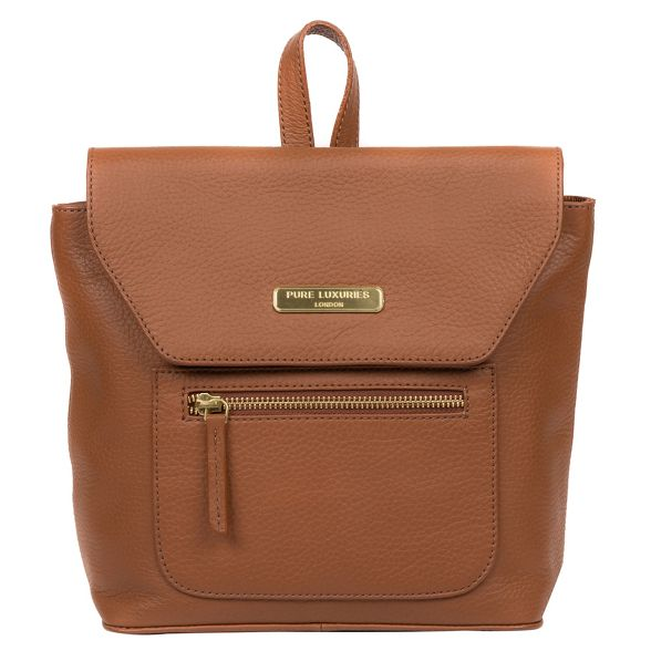 backpack leather Luxuries 'Yeadon' London Tan Pure XqxaOITywq