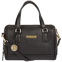 Pure Luxuries London Black Woodbury Leather Handbag