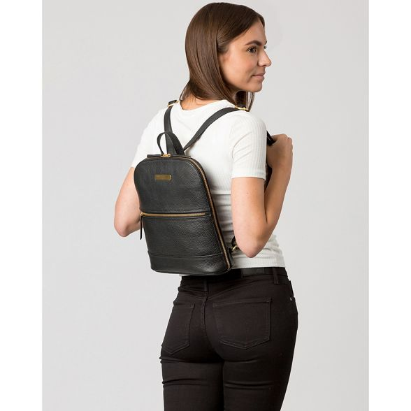 'Ellerton' London leather backpack Black Luxuries Pure qfwtvZw