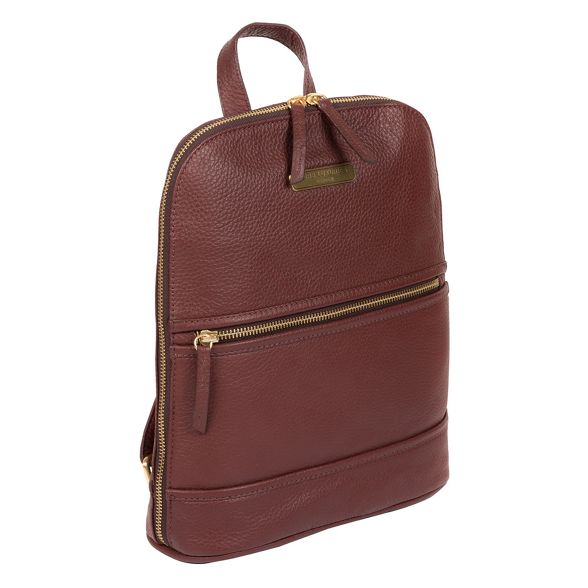 London Pure Luxuries leather 'Ellerton' backpack Port rr5wCHq