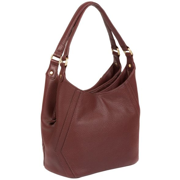 shoulder London Pure leather 'Somerby' Luxuries Port bag 5XgqwZPg
