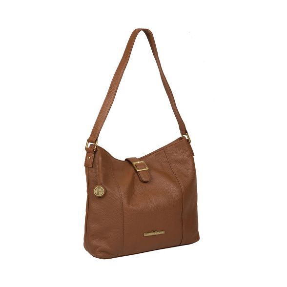 Pure Luxuries leather Tan 'Elaine' handbag London RRrvw8