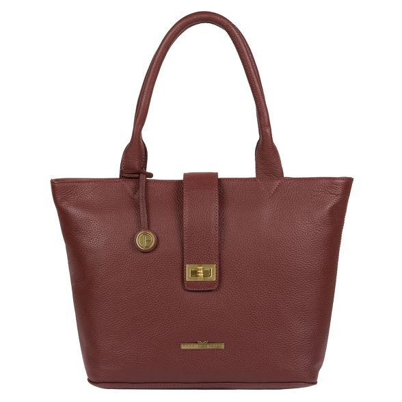 bag London Port tote Pure leather Luxuries 'Ida' genuine TU44Oq