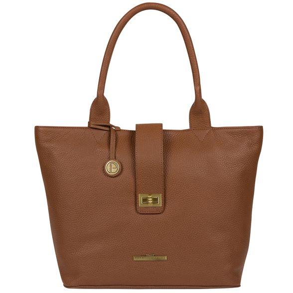 Pure leather London Tan Luxuries 'Ida' handbag Irrw0q