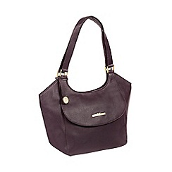 206a30ef8e3 Pure Luxuries London - Plum  Denisa  Handcrafted Leather Tote Bag