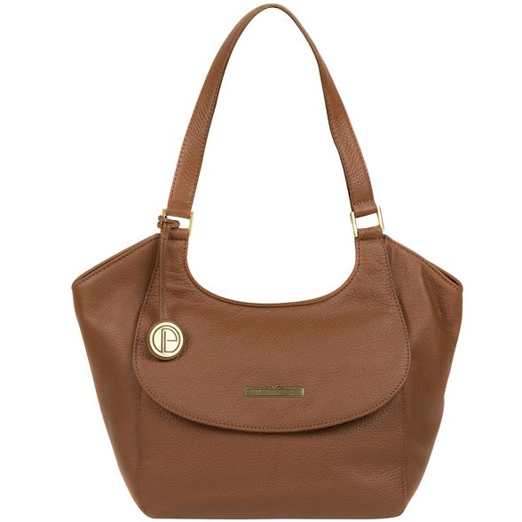 Tan bag hobo genuine leather London 'Denisa' Luxuries Pure PZxw1qEU