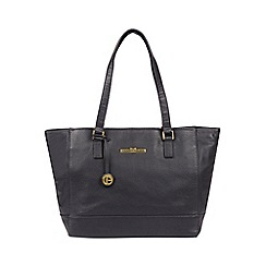 Pure Luxuries London - Midnight Blue  Goldie  Leather Tote Bag be7d87c324698