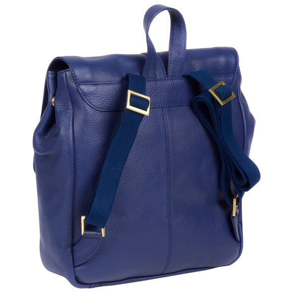 London French 'Maryam' Luxuries Pure backpack leather navy FqE5E