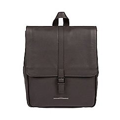 Pure Luxuries London - Slate  Maryam  genuine leather backpack 1d8e9bed72