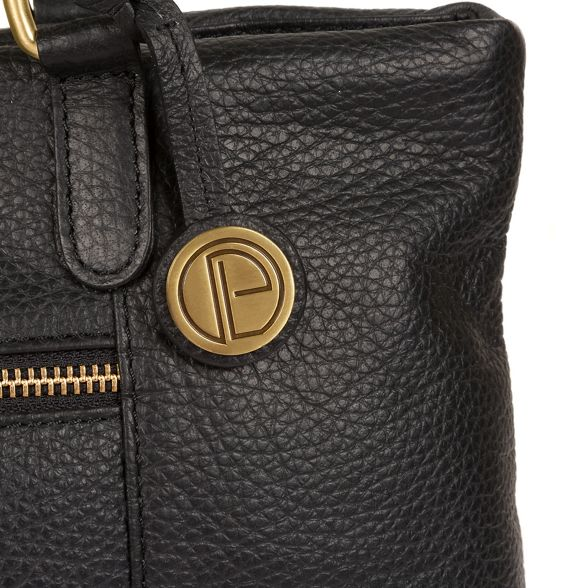 handcrafted 'Thea' Pure Luxuries shoulder leather Black bag London RInAOq8