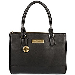 Pure Luxuries London - Black 'Jodie' soft leather handbag  Deluxe Collection