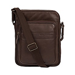 Pure Luxuries London Cocoa Capitan Leather Despatch Bag