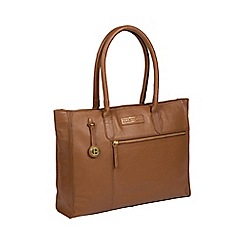 Pure Luxuries London - Tan  Bloomsbury  leather shoulder bag d32bc9ae4f