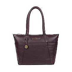 2c9ce0df7a6 Pure Luxuries London - Plum  Holne  leather tote bag