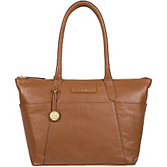 Pure Luxuries London Tan Holne Leather Tote Bag