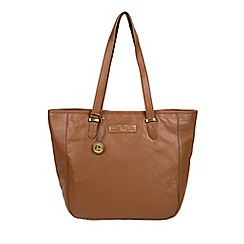 Pure Luxuries London - Tan  Spalding  leather tote bag 7fd69644f4