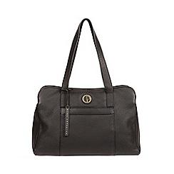 Pure Luxuries London - Black 'Henna' fine leather handbag