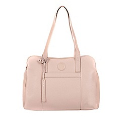 Pure Luxuries London - Blush pink 'Henna' fine leather handbag