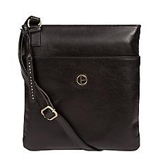 Pure Luxuries London Vintage Black Foxton Shoulder Bag