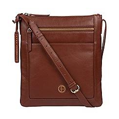 Pure Luxuries London Vintage Cognac Bray Cross Body Bag