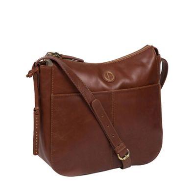 cab010e43bb4 Pure Luxuries London - Vintage cognac  Farlow  shoulder bag