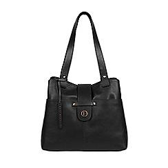 Pure Luxuries London Vintage Black Bickley Leather Handbag