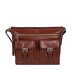 Pure Luxuries London - Vintage cognac  Cleeton  leather shoulder bag 052f106843