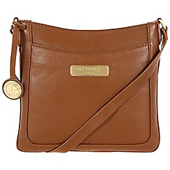 Pure Luxuries London - Tan 'Kara' leather bag - Deluxe Collection