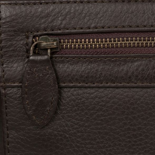 bag 'Lawrence' Brown Luxuries leather London messenger Pure 0Hf7af