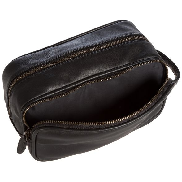 Luxuries Pure 'Moore' bag leather London Black wash UxxOFd1