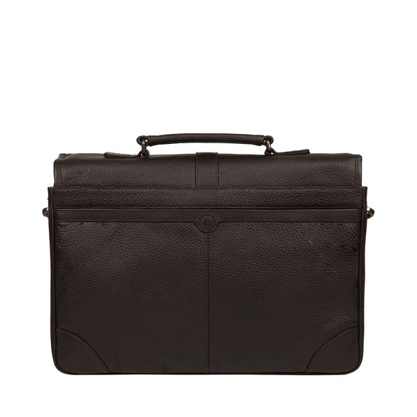 'Wallace' leather London briefcase Luxuries Pure Brown tan1w0qx8