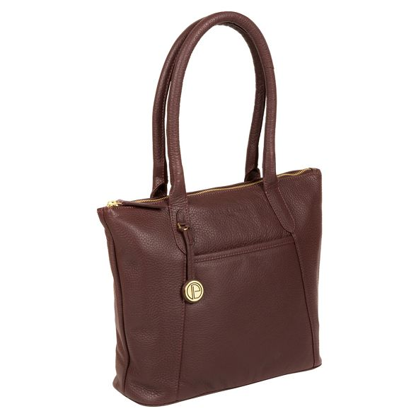 'Alnwick' handbag Auburn London Luxuries Pure leather 8wpqAqZ