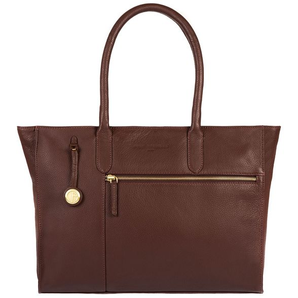 leather Pure gold detailing Auburn handbag with Luxuries 'Bexley' London coloured IwZqT6w