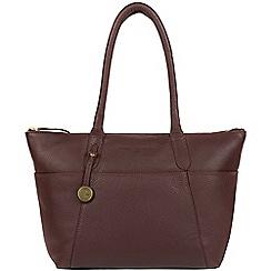 Pure Luxuries London - Auburn 'Eton' leather handbag